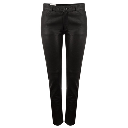 InWear Mulgak Leather Pants - Black