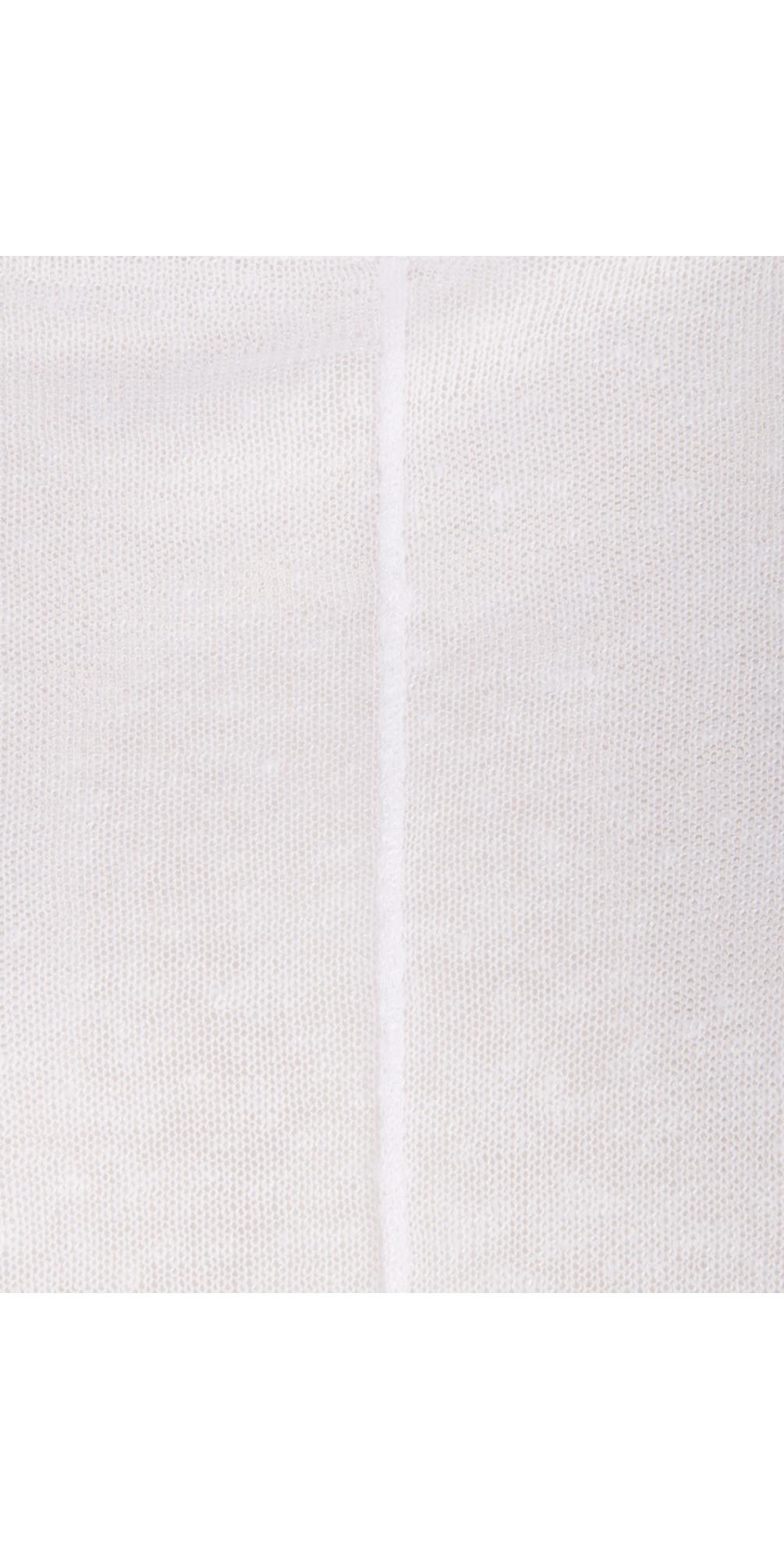Short Sleeve Cloudy Linen Tunic main image