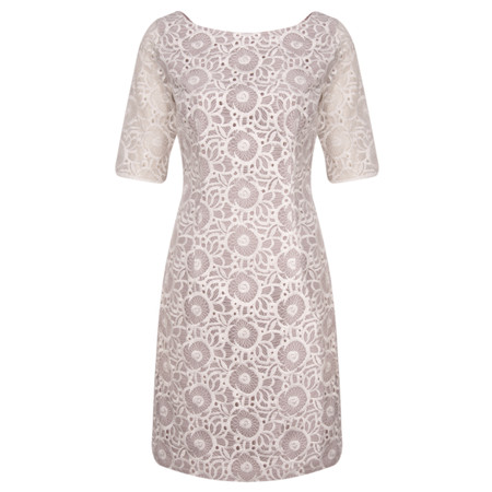 Fenn Wright Manson Felice Lace Shift Dress - Off-White