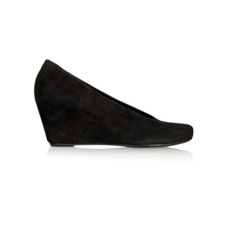 Hogl Samkid Suede Wedge Shoe - Black