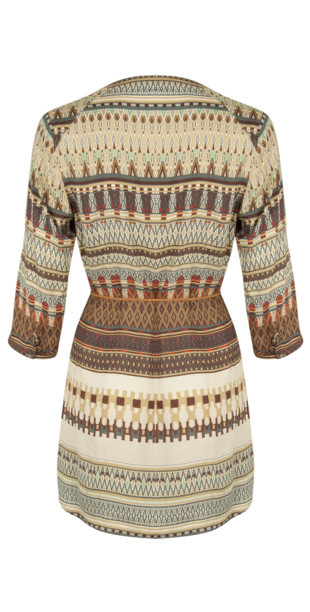 Tapestry Print Tunic main image