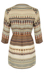 Sandwich Clothing Slate  Tapestry Print Tunic