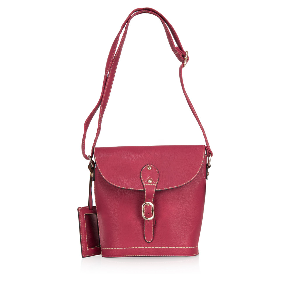 Kris-Ana Andrea Saddle Bag Rose
