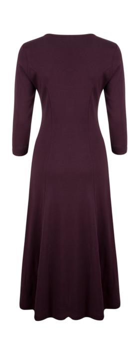 Adini Maxine Dress Damson