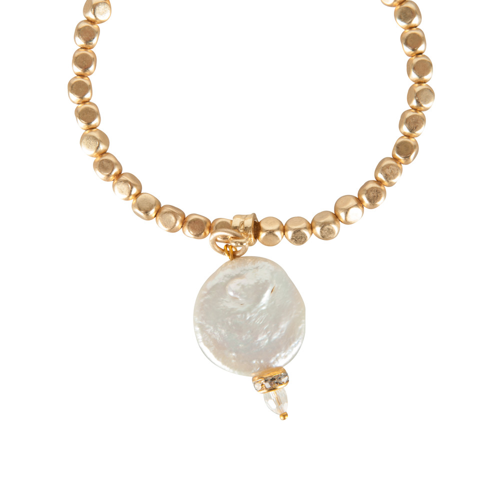Pranella Matilda Pearl Bracelet Gold