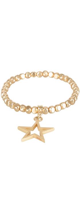 Pranella Matilda Star Bracelet Gold