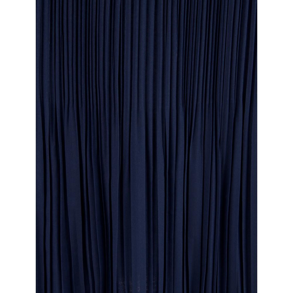 Sandwich Clothing Plisse Skirt Ink Blue
