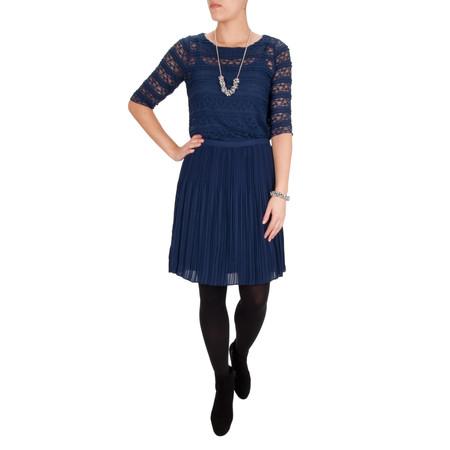 Sandwich Clothing Plisse Skirt - Blue