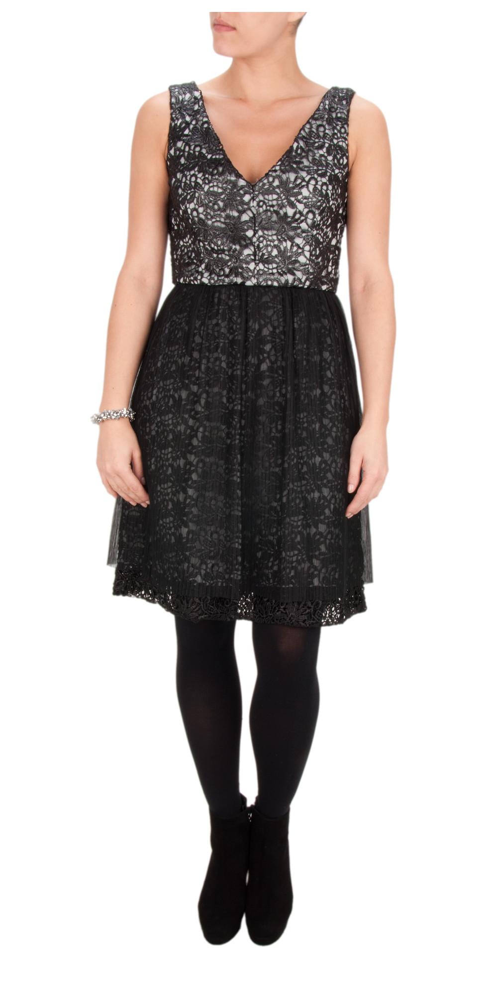 Glazed Lace Sleeveless Dress main image