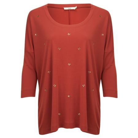 Stills Clothing Short Sleeve Tencel Interlock T-shirt - Red