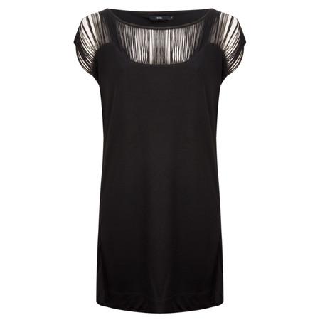 Stills Clothing Long Top S/l Tencel - Black