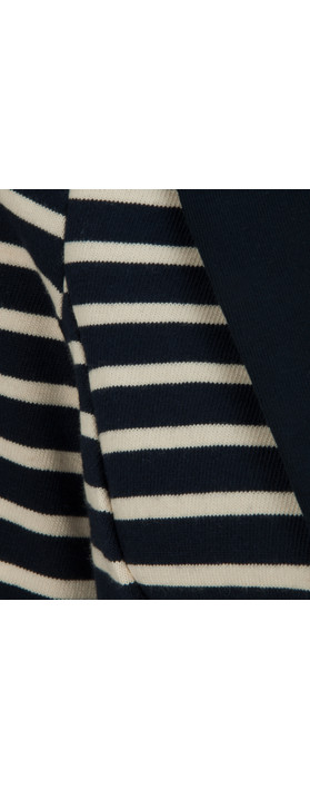 Great Plains Breton Stripe Jacket The Navy