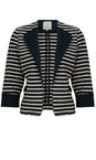 Great Plains The Navy Breton Stripe Jacket