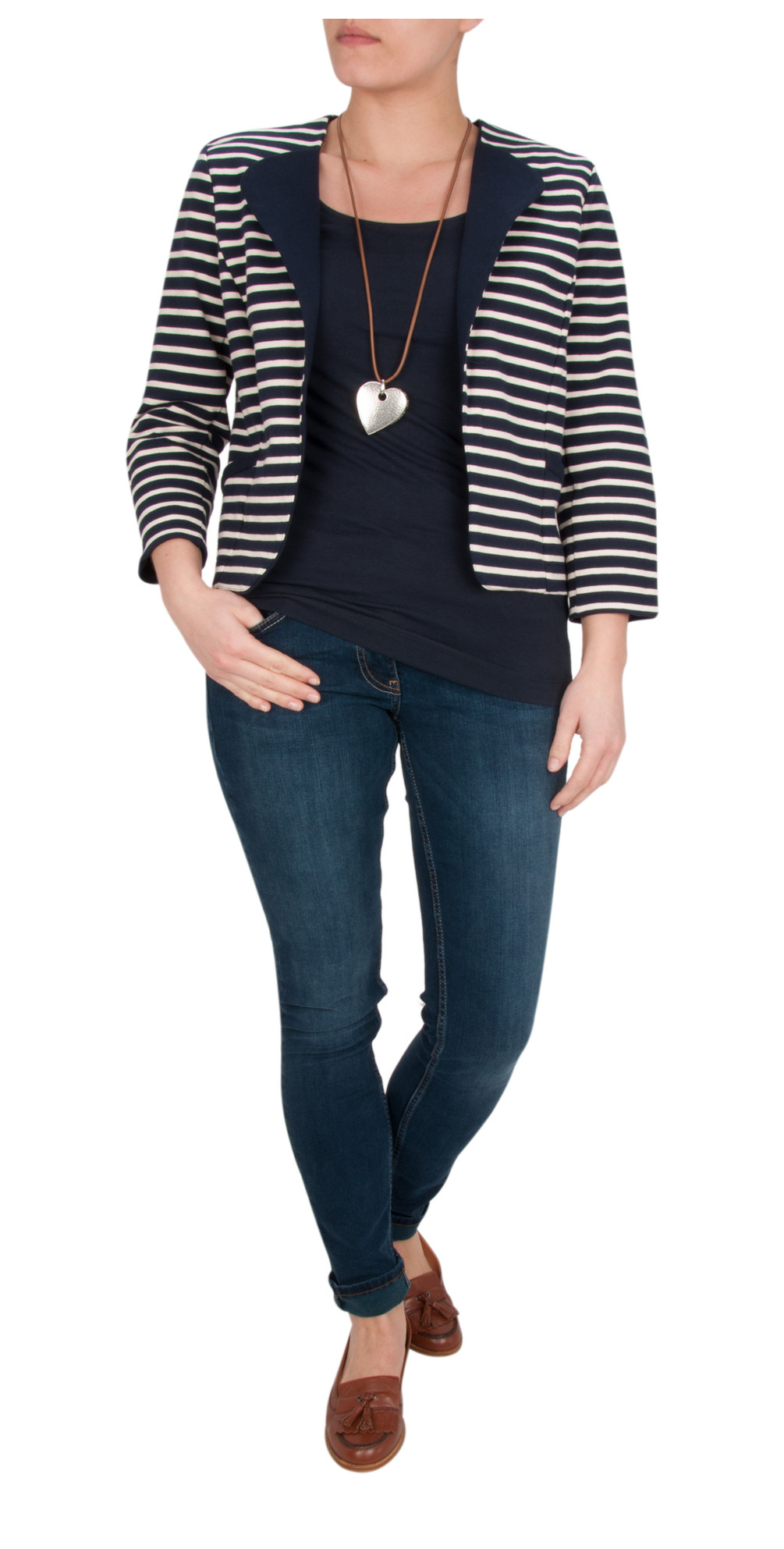 Breton Stripe Jacket main image