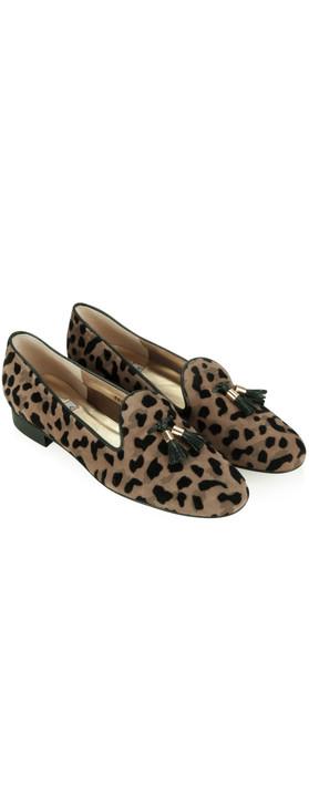 HB Shoes Cupid Tassel Flat Slipper Jaguar