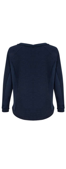 Sandwich Clothing Double Face Jersey Sweater Navy