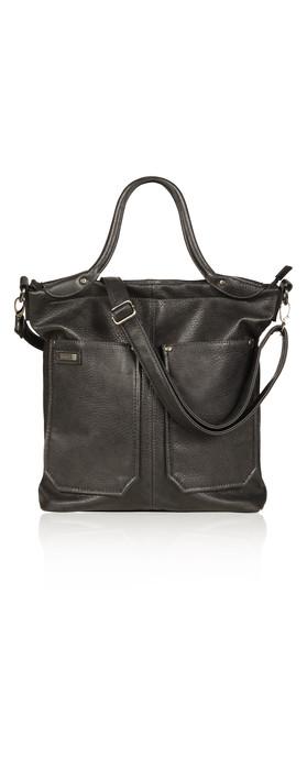 Sandwich Clothing Shoulder Bag Charcoal