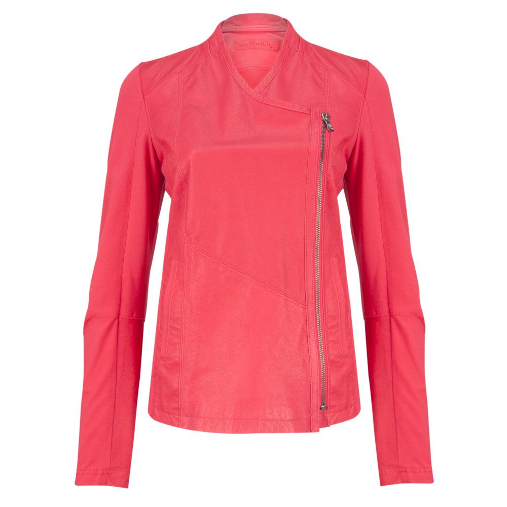 Sandwich Clothing Pig Drum Dye Jacket Bright Coral