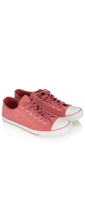 Sandwich Clothing Sneakers Bright Coral