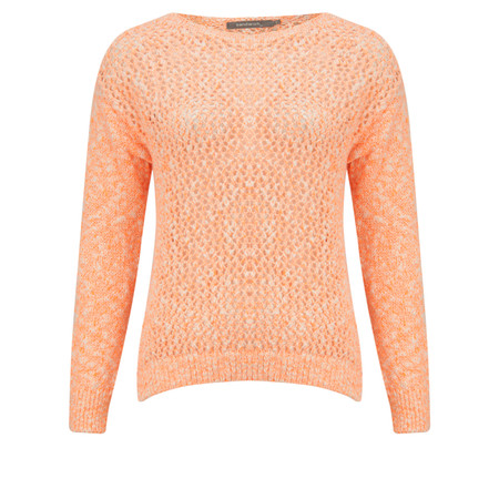 Sandwich Clothing Fluo Cotton Flame Pullover - Orange