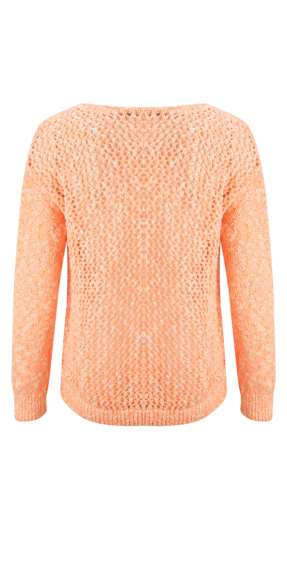 Fluo Cotton Flame Pullover main image