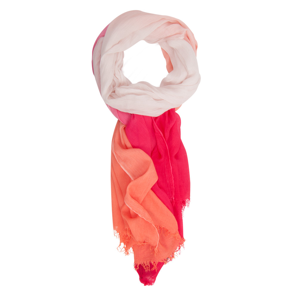 Sandwich Clothing Degrade Scarf Bright Coral