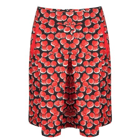 Great Plains Strawberry Fields Skirt - Red