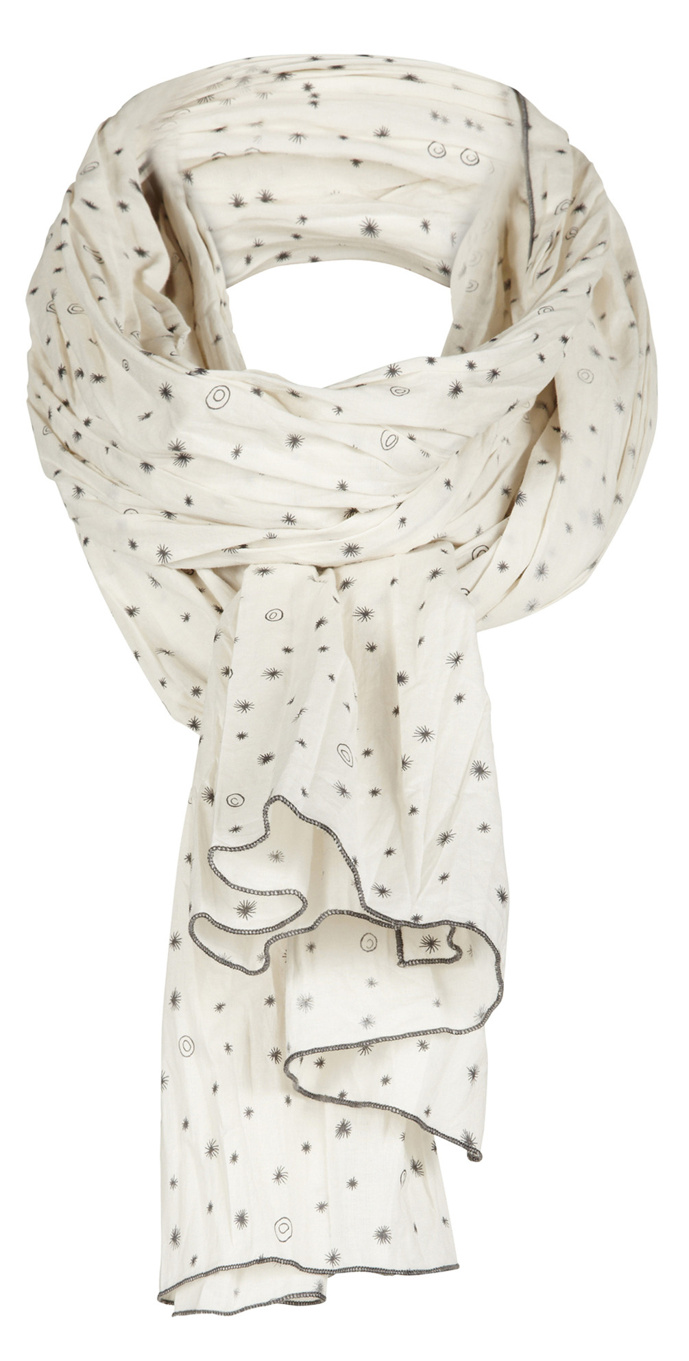 Little Star Print Scarf main image