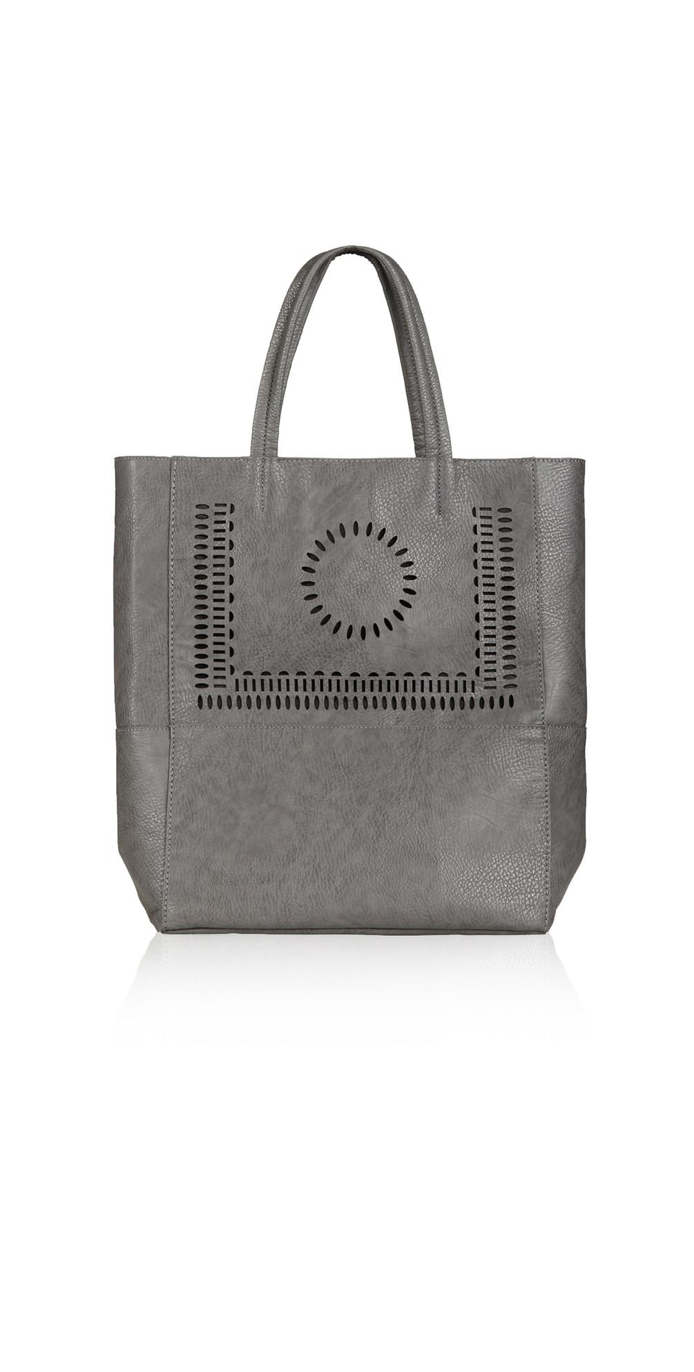 Perforated Detail Shopper Bag main image