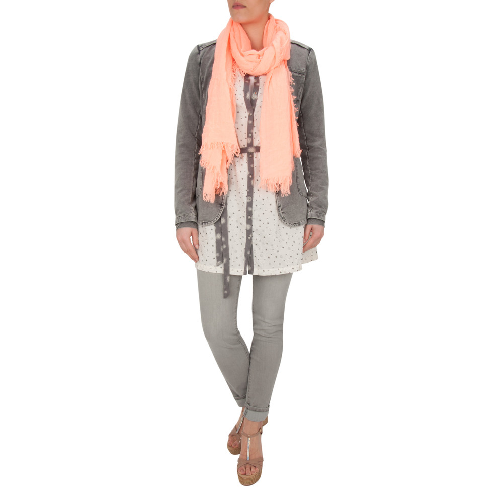 Sandwich Clothing Solid French Terry Jacket Charcoal