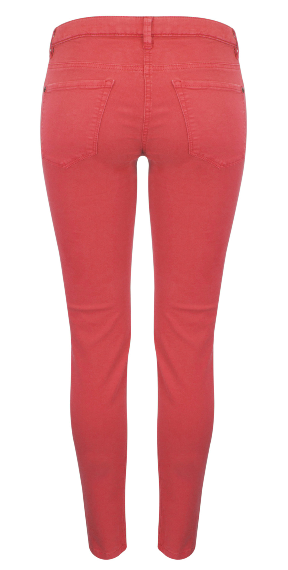 Skinny Coloured Stretch Pants main image