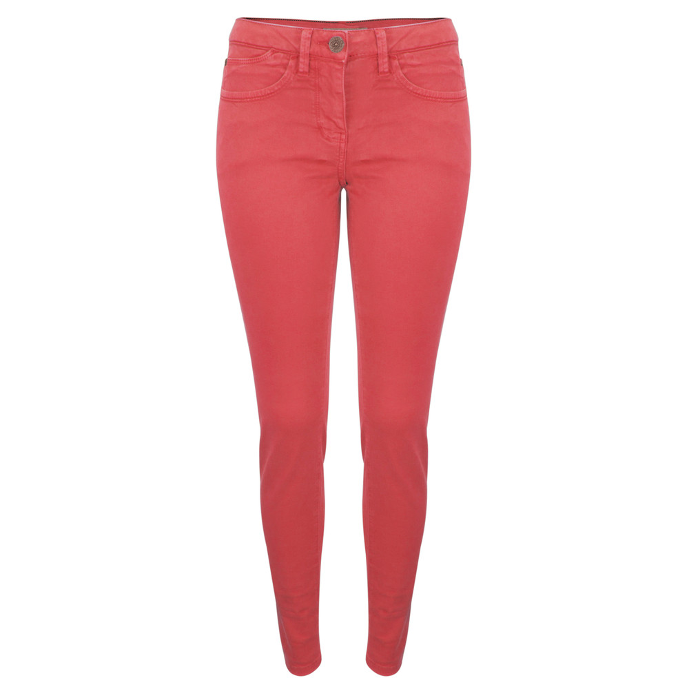 Sandwich Clothing Skinny Coloured Stretch Pants Bright Coral