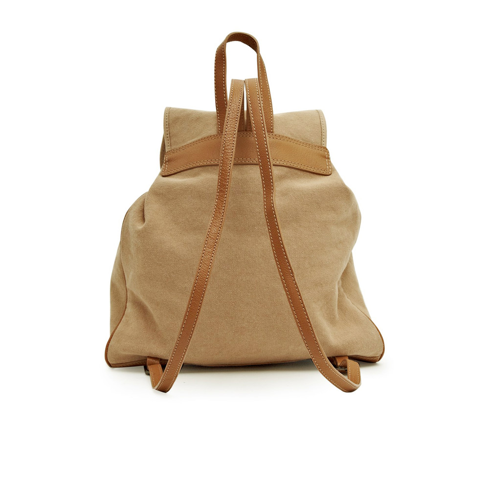 Great Plains Hemmingway Canvas Backpack Sand