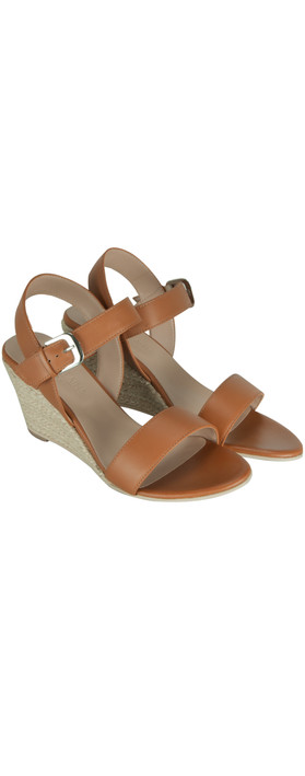 Great Plains Summer Remix Wedge Sandal Tan