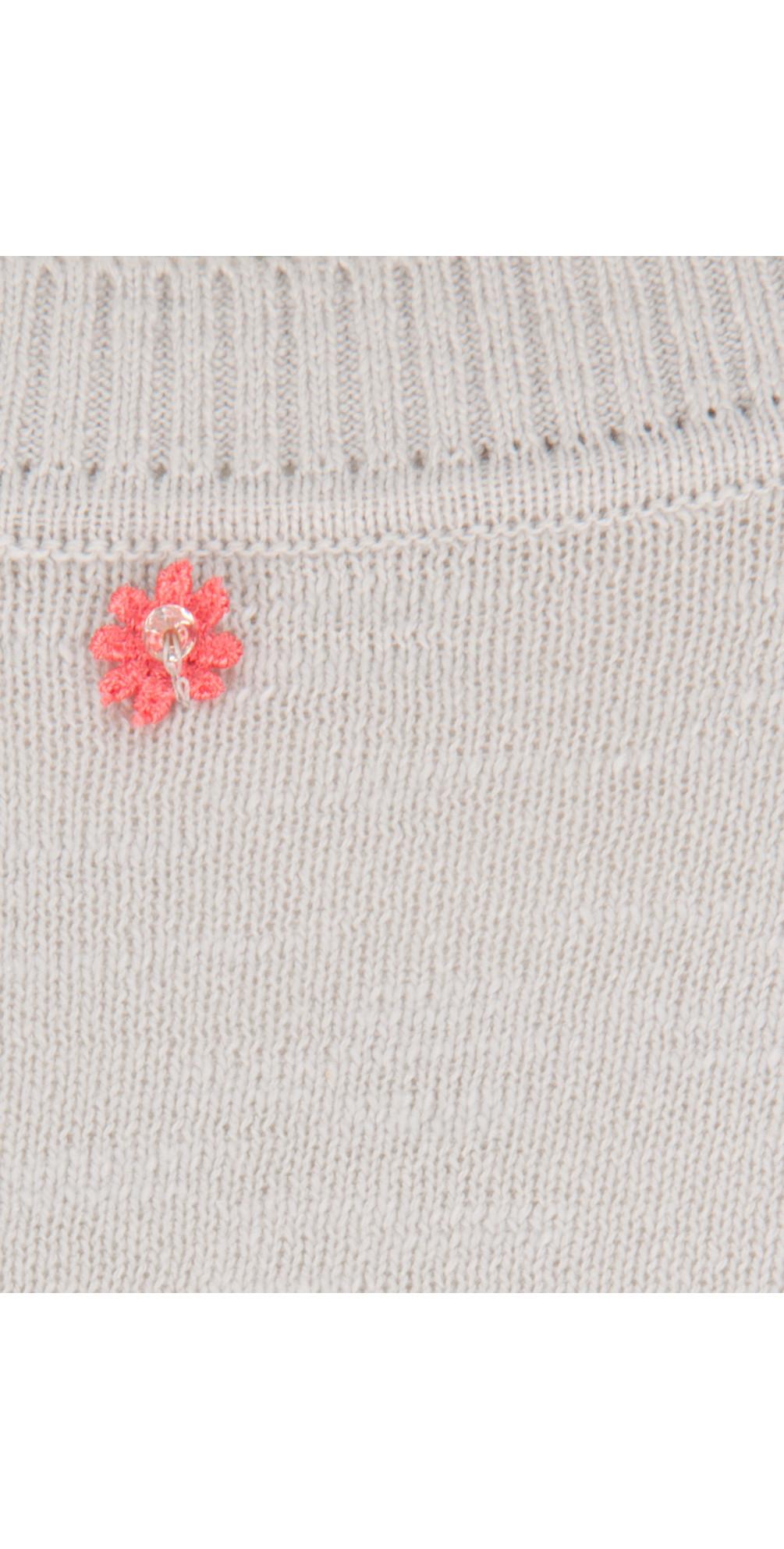 Polka Flower Knit Jumper main image