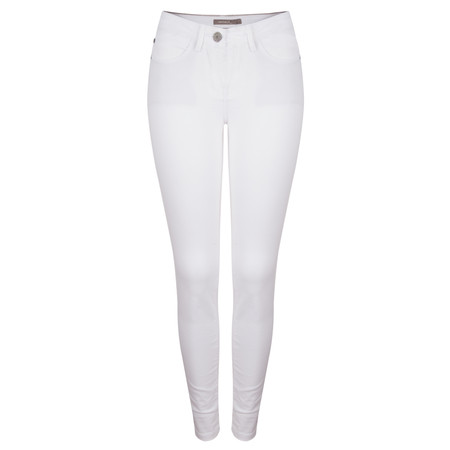 Sandwich Clothing Skinny Coloured Stretch Pants - White
