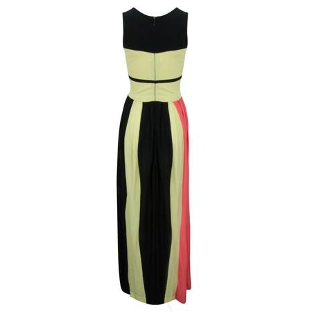 French Connection Medina Stripe Dress - Black
