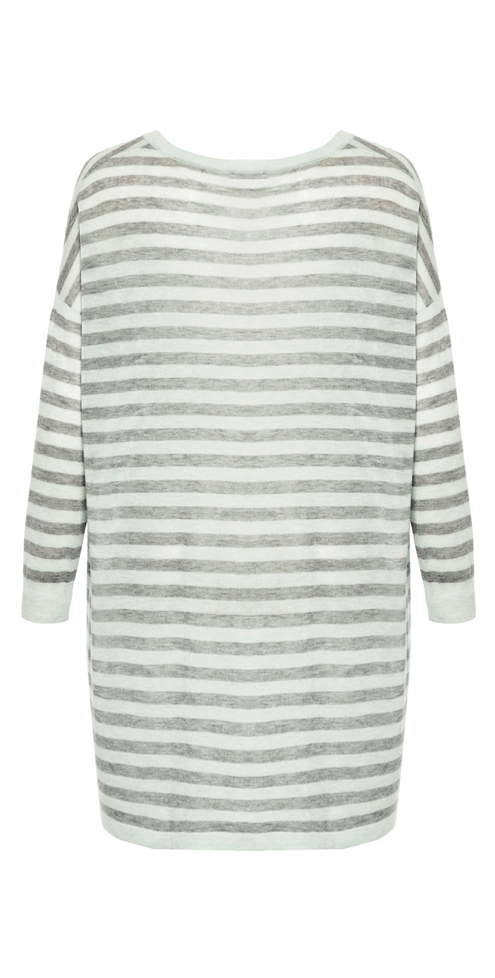Marella Striped V-neck Top main image