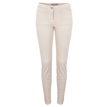 Sandwich Clothing Skinny Coloured Stretch Pants - Beige