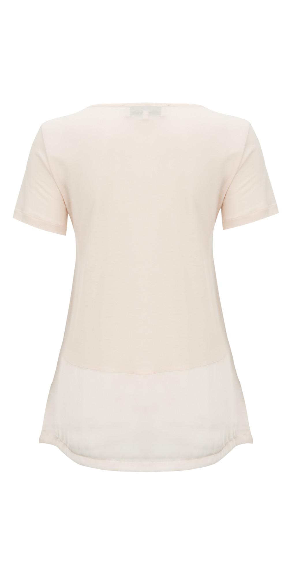 Polly Plains Satin Band T-Shirt main image