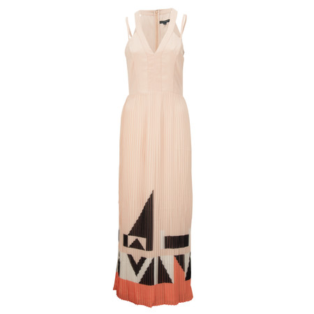 French Connection Marquee Parade Maxi - Beige