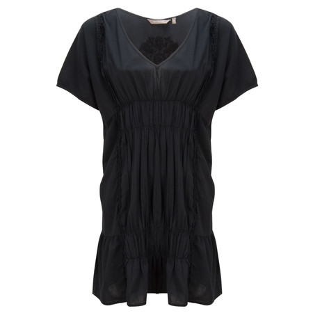 Sandwich Clothing Embroidered Lawn Tunic - Black