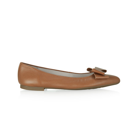 Unisa Shoes Acis Ballet Pump - Brown