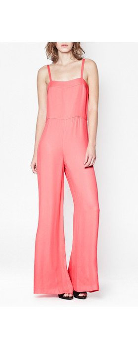 French Connection Calla Collette All in One Jumpsuit Party Pink
