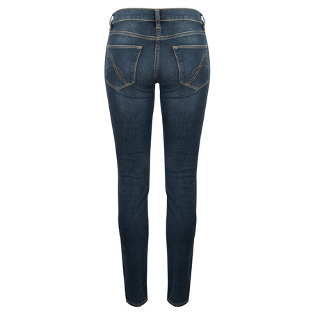 French Connection Nancy Skin Tight Denim Jean - Blue