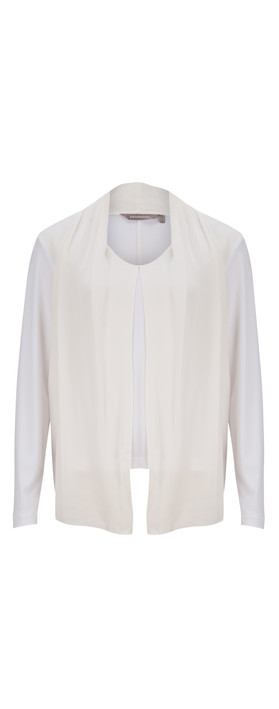 Sandwich Clothing Solid Crepe Top Off-White