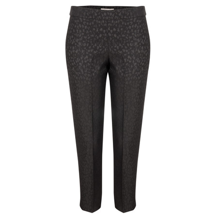 Great Plains Leo Jacquard Trouser - Black
