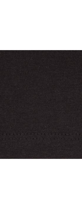 Great Plains Primrose Stretch Top Black