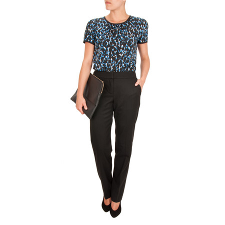 Great Plains Bella Suiting Trouser - Black