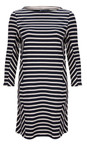 Long Sleeved Striped Dress additional image